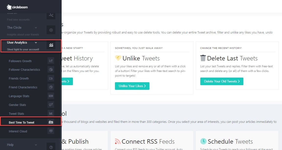 You can easily determine the best time to post on twitter for business!