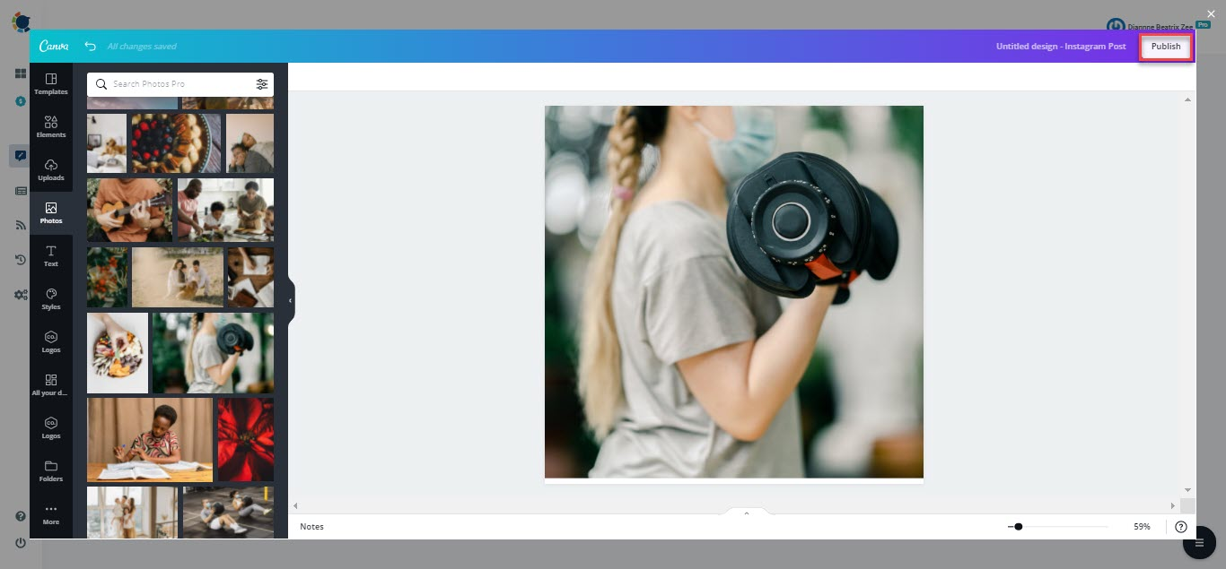 Take advantage of image curation on Circleboom social media management tool!