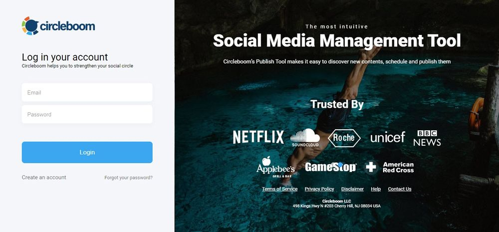 social media post design by Circleboom Publish!