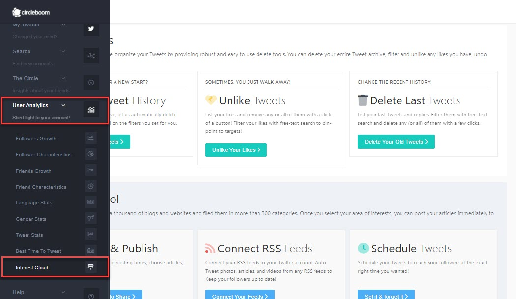 Analyse Twitter audience yours to get the best strategy for Twitter Interest Targeting!